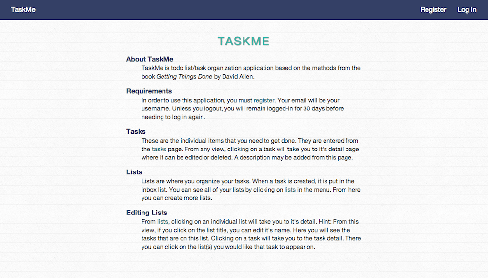 Task Application